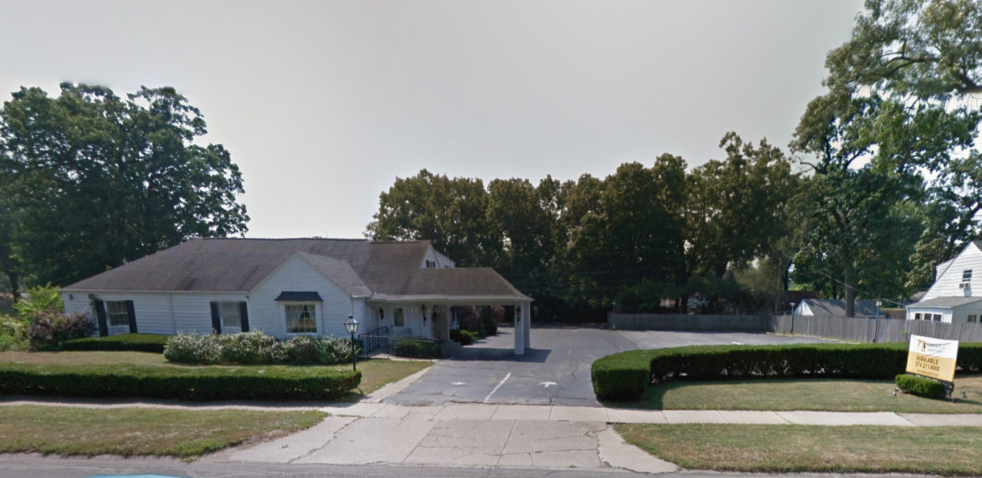 as shown in the google maps street view of the property below the building was sold to the river bend cancer services of south bend in 2013
