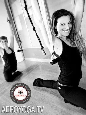 los laumnos del diploma certificacion de profesores de aero yoga y aero pilates internacional