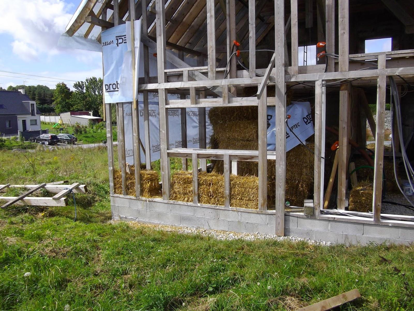 construction de notre maison en bois et paille septembre 2014. Black Bedroom Furniture Sets. Home Design Ideas
