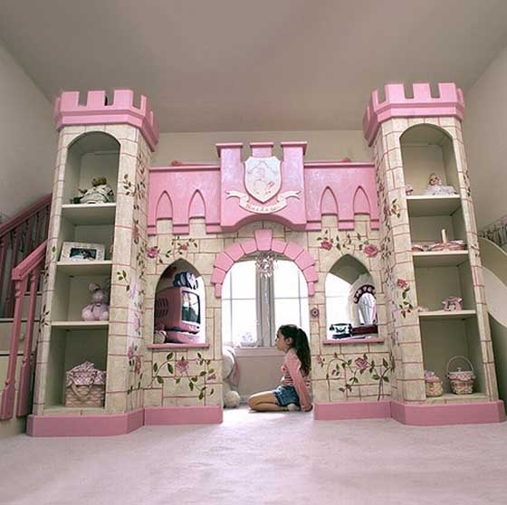 Princess Kids Bedroom Sets Interior Of Master Bedroom Newborn Boy Bedroom Ideas Bedroom For Kids: Fairy Tales Interior Design: Fairy Tales Interior