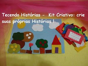 KIt Criativo - leve na bolsa e invente suas Histórias onde estiver !