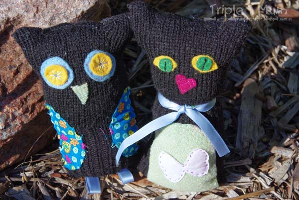 Kid's Owl and the Pussycat Glove Craft