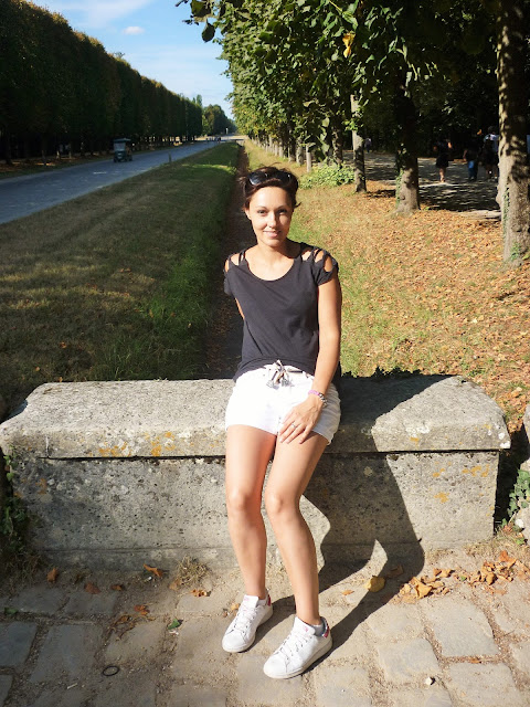 Look mode été H&M short blanc