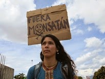 (Fotos) Movimiento ecologista costarricense movilizado contra Monsanto