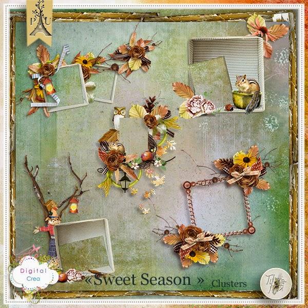 Tifscrap_SweetSeason_Clusters