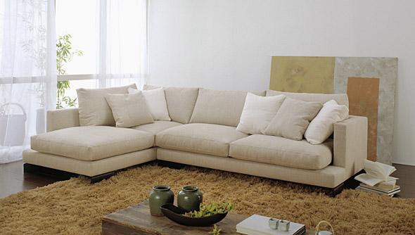 Divani e divani letto su misura divani con chaise longue - Copridivano chaise longue su misura ...