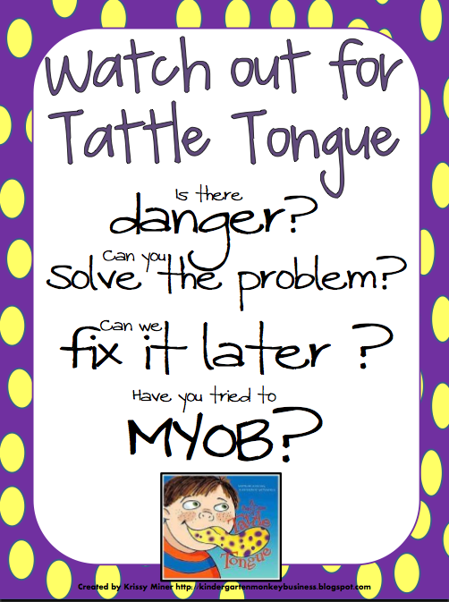 Ms. Sepp\'s Counselor Corner: Itchy Itchy, Scratchy Scratchy: Tattle ...