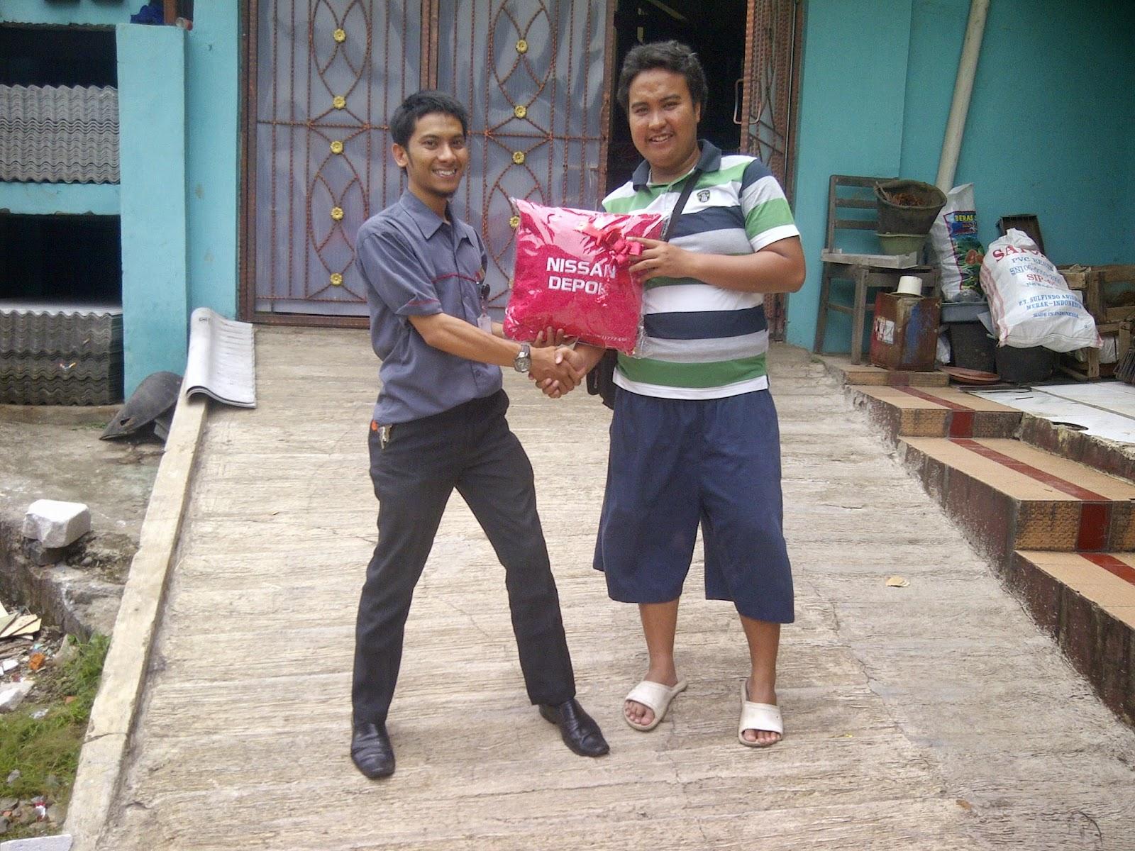 Terimakasih atas kepercayaan Bapak Helmy Bayuda yang telah membeli Evalia melalui media www.touchnissan.com.  Semoga Berkah ya Pak...