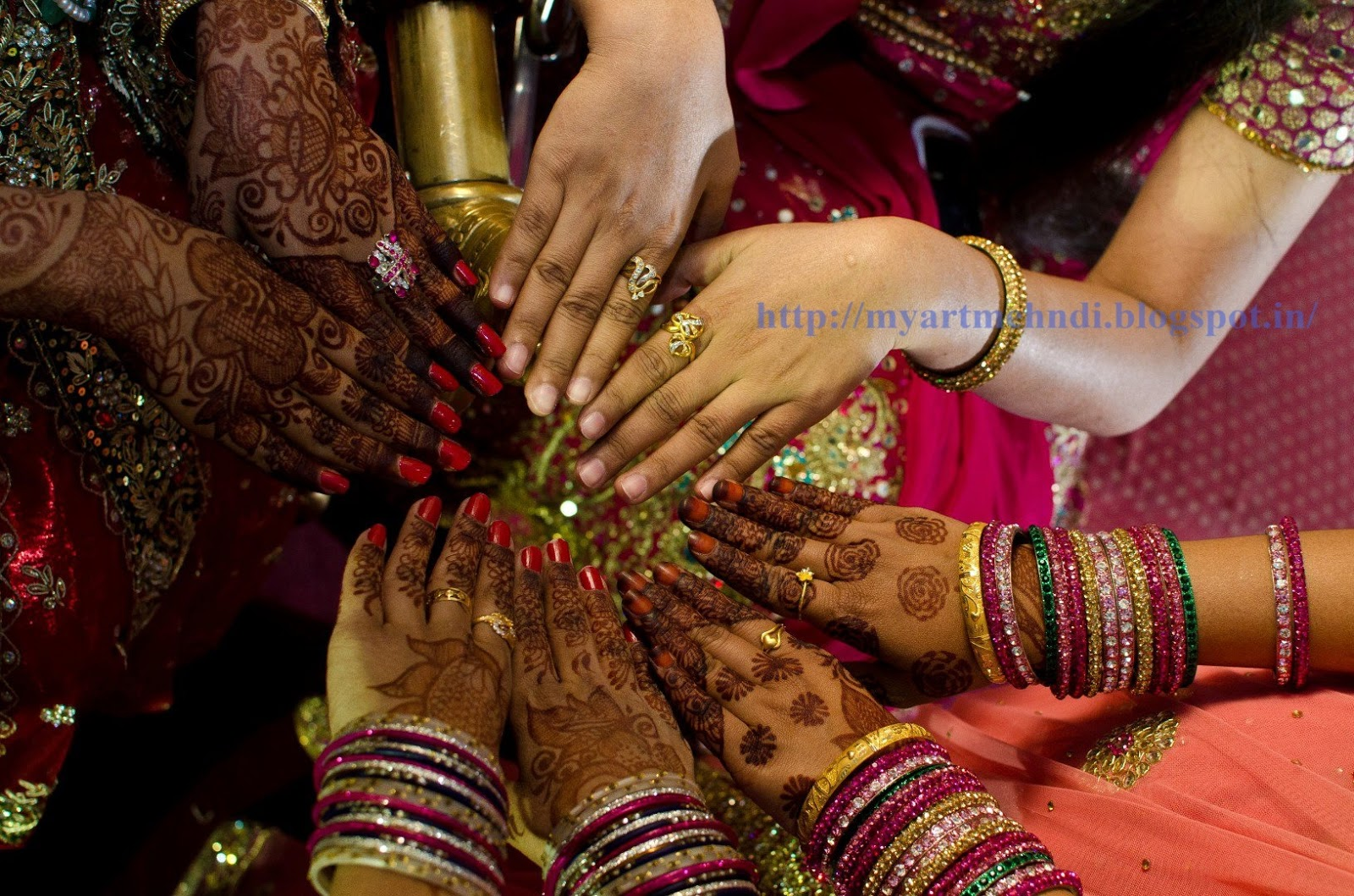 Mehndi Function Dance : Brides bridal parties eid and functions mehndi designs for