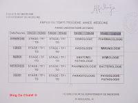 Programme de la 3eme année (2011/2012)