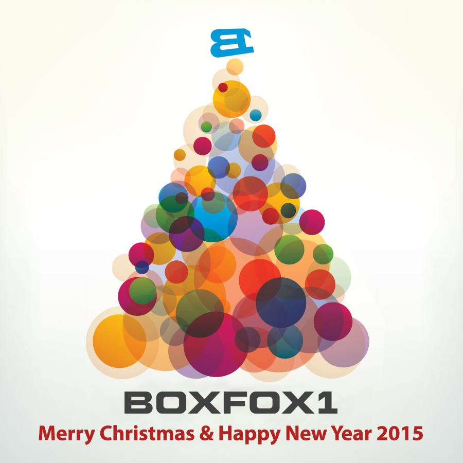 Merry Christmas & Happy New Year 2015 from all of us at Boxfox1 - A big thanks to http://dryicons.com