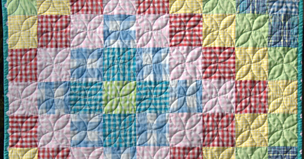 babies simon quilt make how to a baby and gingham company pin simple