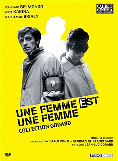 feminism in une femme est une femme a film by jean luc godard Jean-luc godard's fourth film was born out of a period of crisis and meanwhile une femme est une godard conceived vivre sa vie as a showcase for anna.
