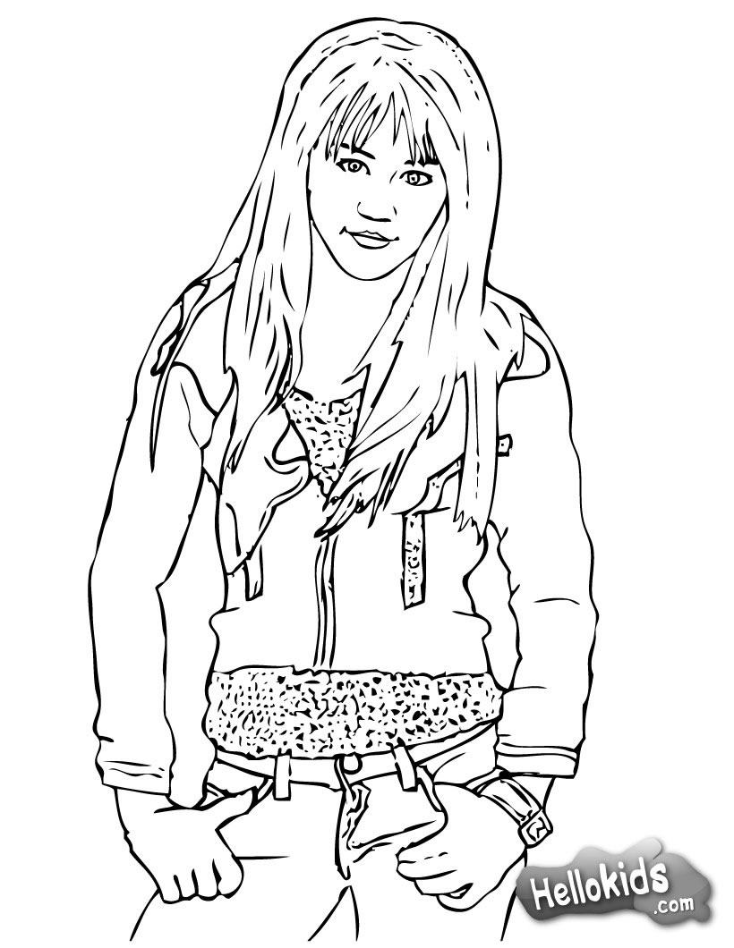 high shcool musical coloring pages - photo#27