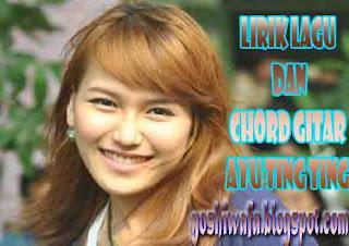 Lirik Lagu dan Chord Gitar Ayu Ting Ting Sik Asik
