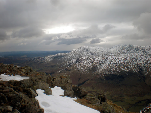 Pavey Ark, Harrisons Stickle, lake district, mountain, snow, mountaineering, climbing, scramble, explore, adventure, UK,