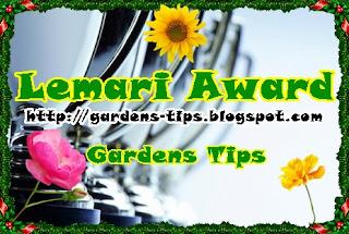 Lemari Award Blog Gardens Tips