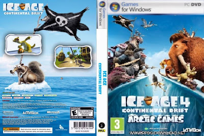 Era Do Gelo 4 A Deriva Continental PC DVD Capa