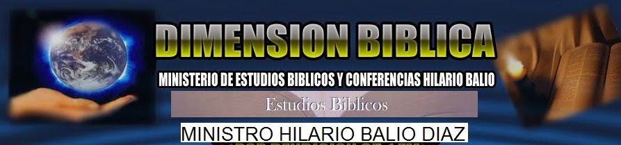 DIMENSION BIBLICA
