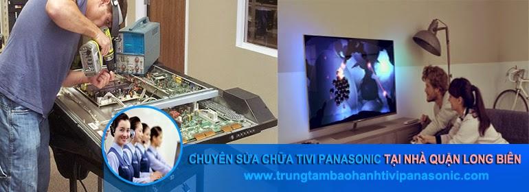Sửa tivi panasonic tại quận Long Biên