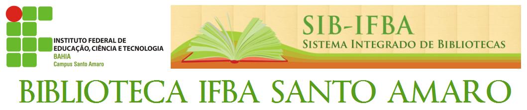 BIBLIOTECA IFBA SANTO AMARO