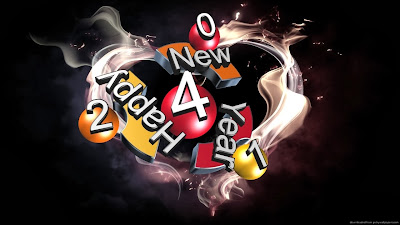 Beautiful Colorful 3D Text Style Cards Happy New Year Images 2014 Happy New Year 2014 Wallpapers