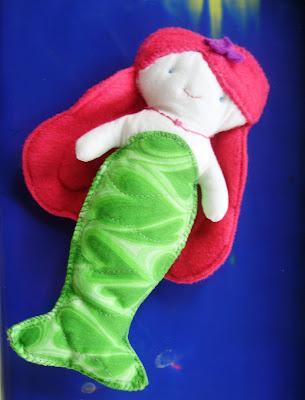Mermaiden Softie Doll