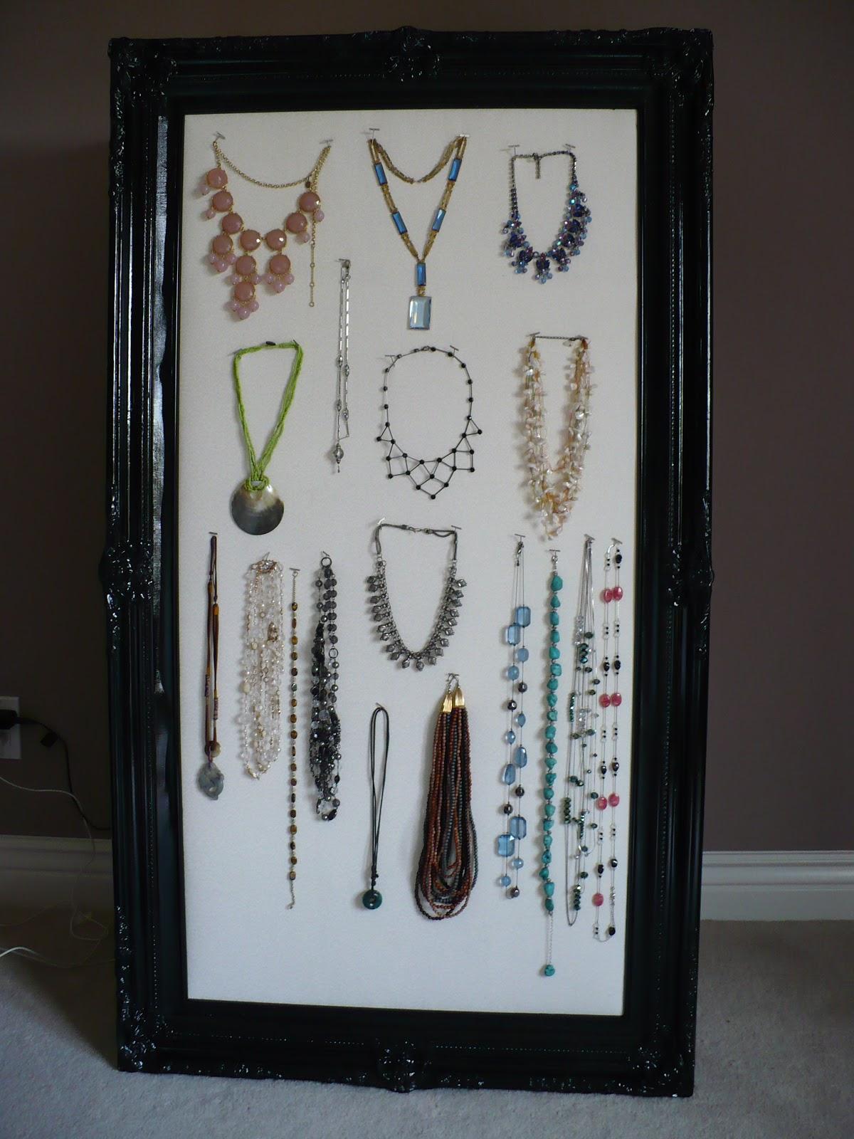 How to Make a DIY Jewelry Organizer POPSUGAR Home