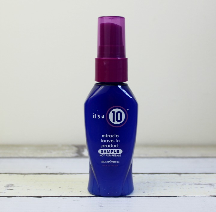 It's a 10® Miracle Leave-In Product sample