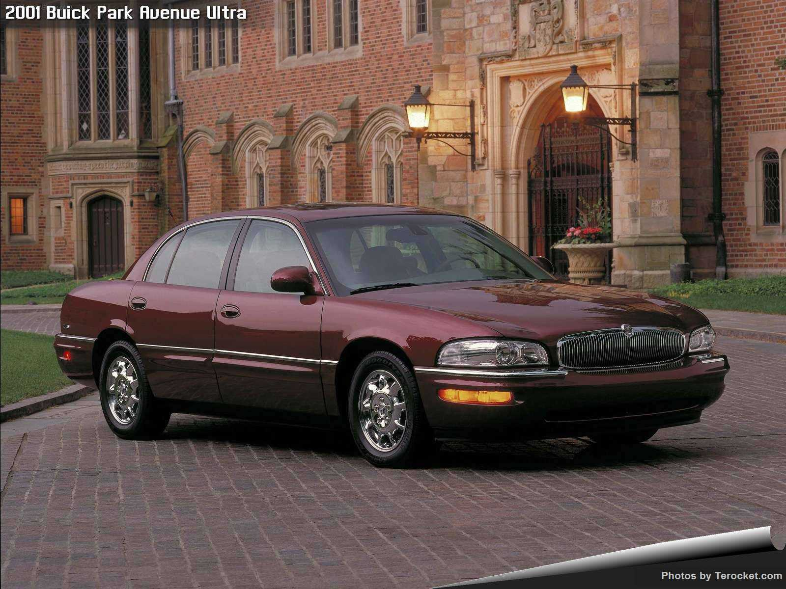 Hình ảnh xe ô tô Buick Park Avenue Ultra 2001 & nội ngoại thất