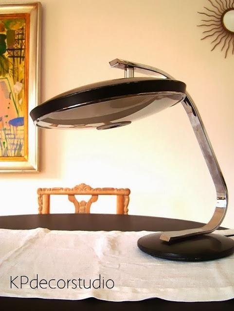 Comprar lámparas vintage de mesa para despacho o escritorio modelo FASE 520 C