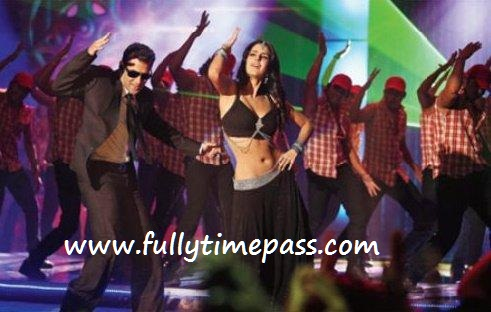 Katrina Kaif BODYGUARD  - Katrina Kaif BODYGUARD Stills - Title Song Pic with Salman Khan