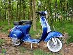 VESPA PTS 100 BLUE