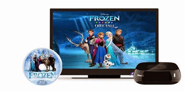 Stream Blu-ray Movies to Roku