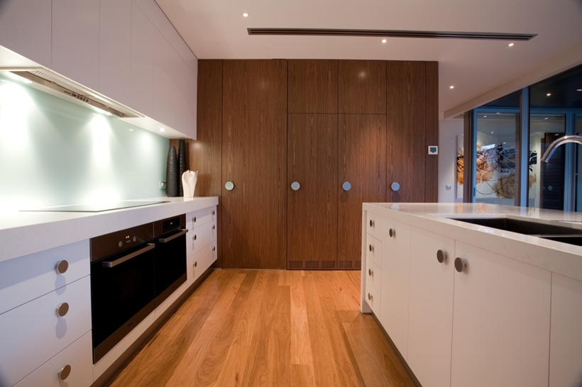 Kitchen interior of Kew House by Vibe Design Group