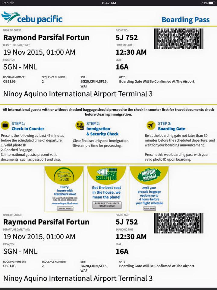 how to know if your flight is cancelled cebu pacific