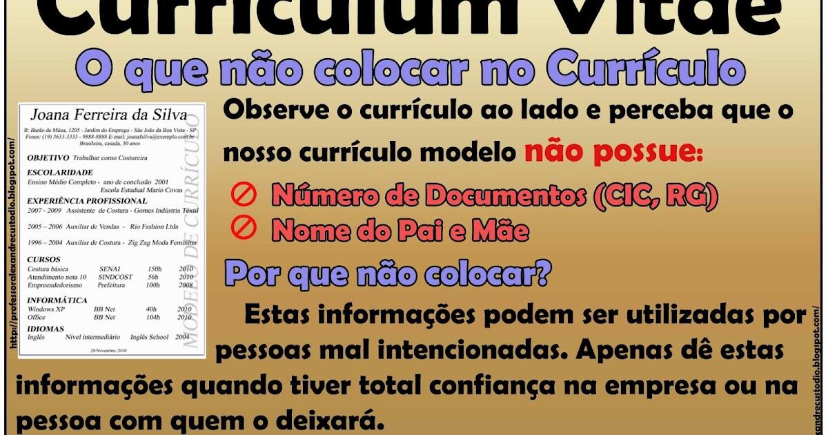 Curriculum vitae economista