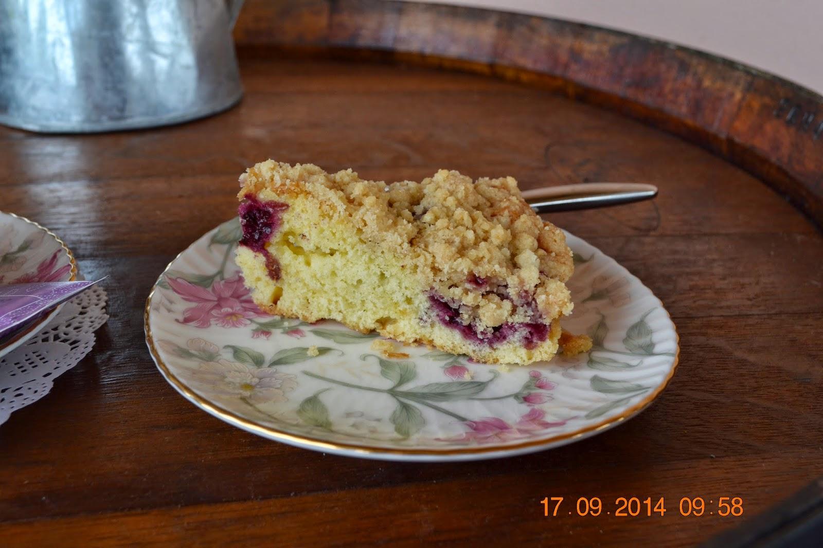torta di more colazione