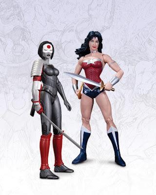 DC Collectibles 52 Katana & Wonder Woman Figure 2-Pack