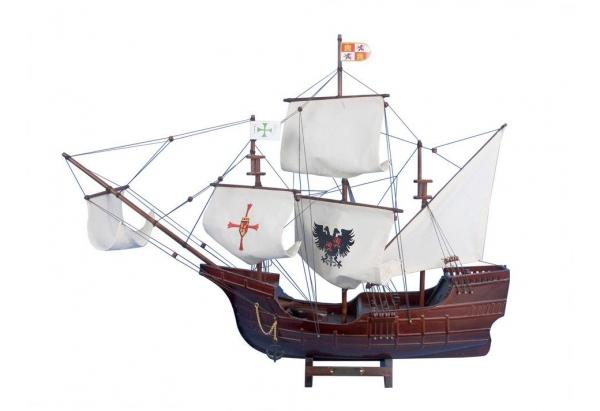 Santa Maria Wooden Boat Model