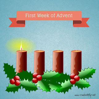 Advent - Looking Forward to My Savior's Birth, Week 1 | www.created2fly.net