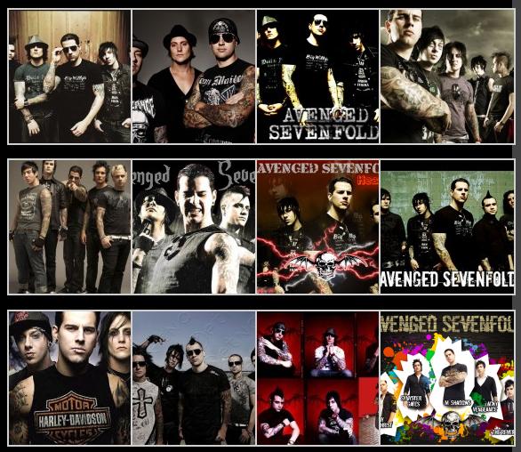 Foto Band Avenged Sevenfold