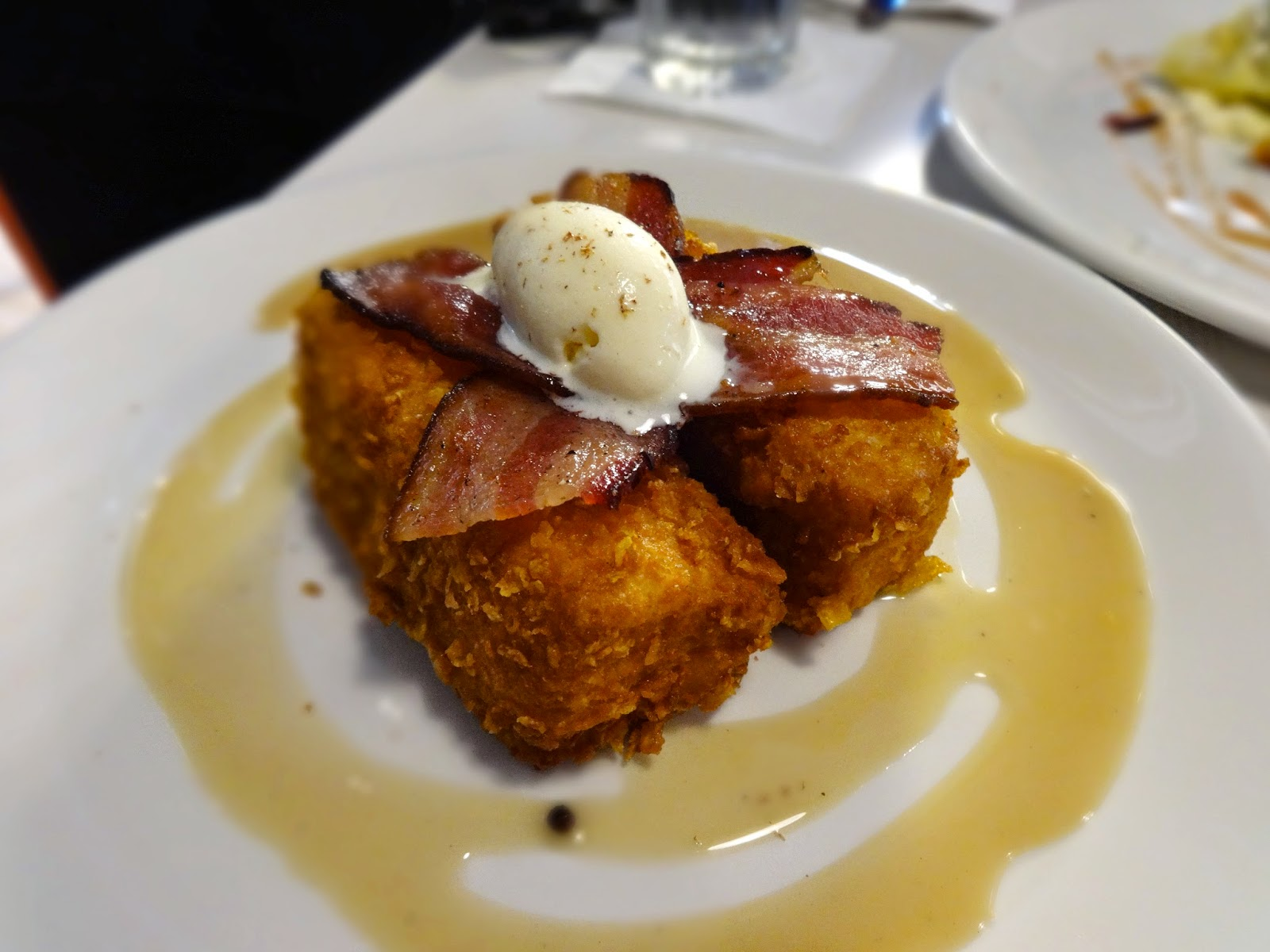 Cornflake French Toast reminded me of Burger King's French Toast ...