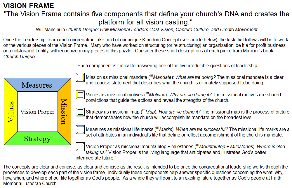 Stand Firm: Did You Know Your Church\'s DNA Is Defined by Five ...