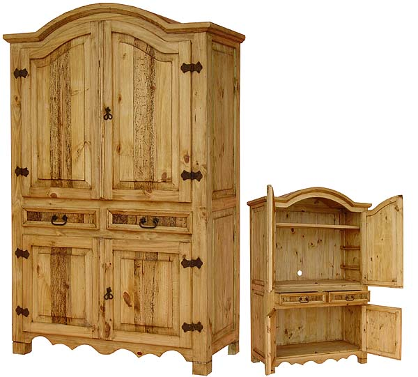 Kitchen Design The Beauty Of Mexican Pine Furniture