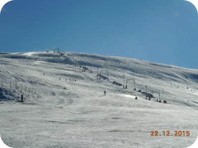 Zapada, ski, soare si vant la Straja