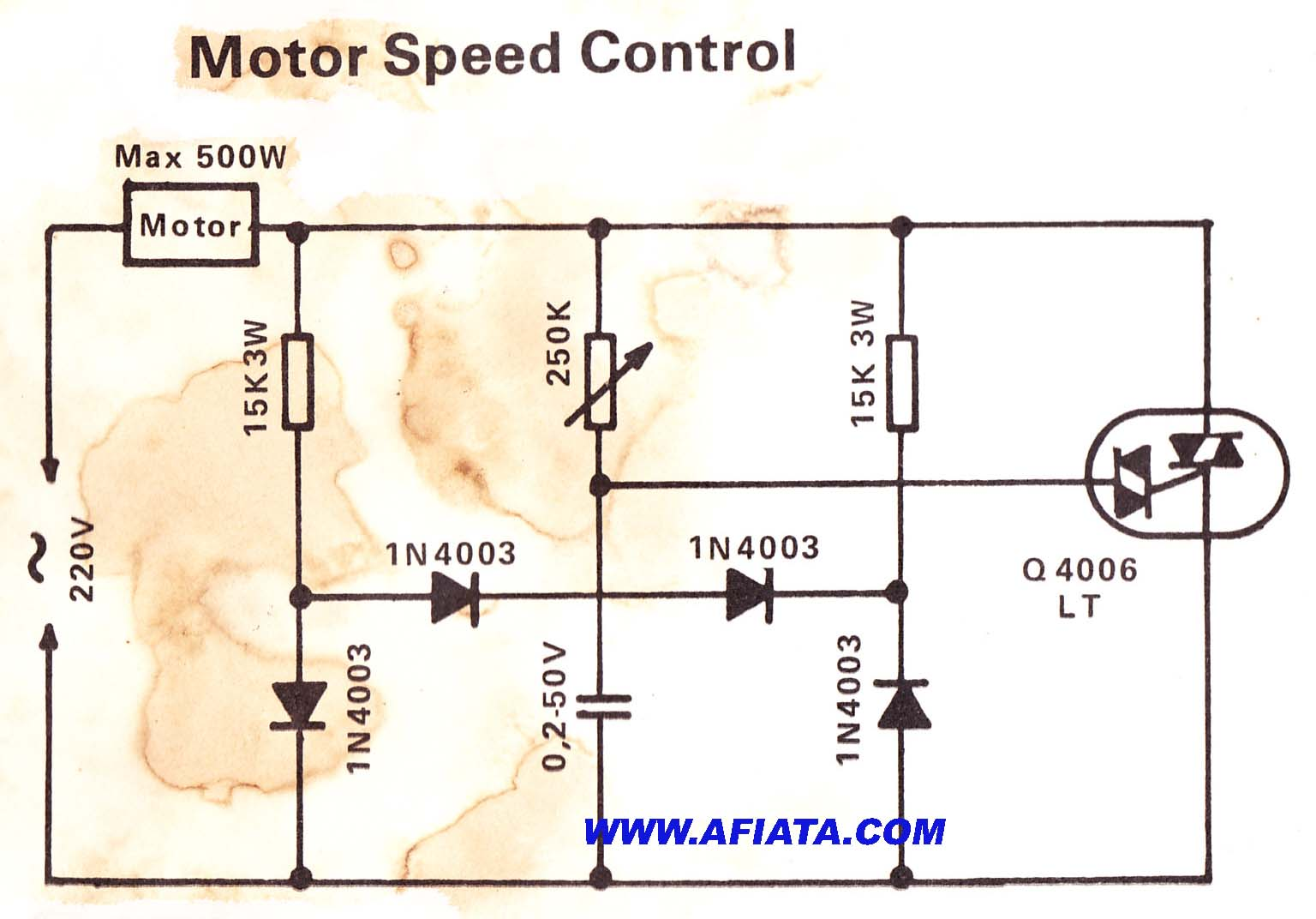 Ac motor circuit ac motor kit picture for Speed control of ac motor