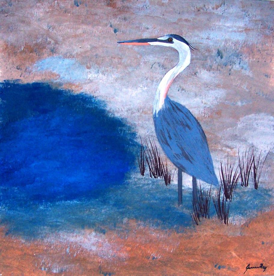 Conscious Art Studios Heron Totem Symbolic Meaning