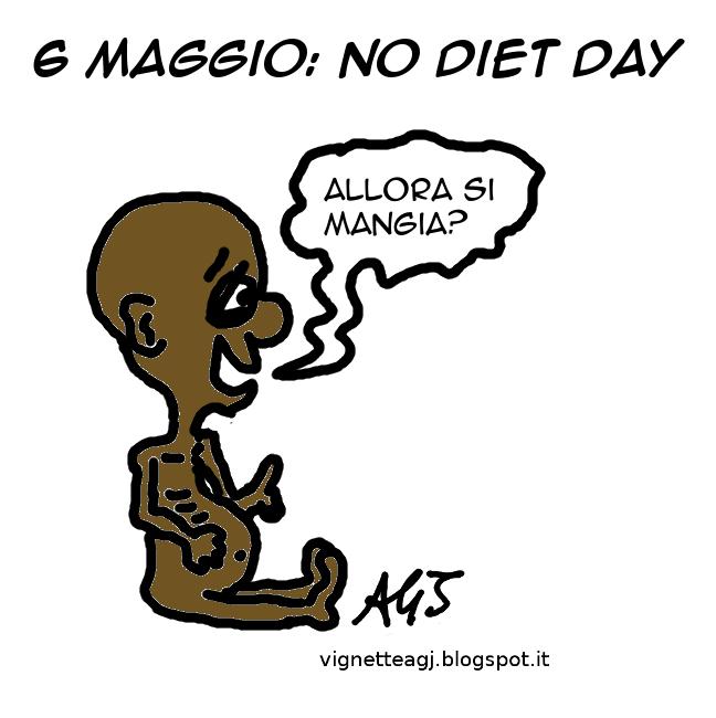 cibo, diete, anoressia, fame nel mondo, satira, vignetta