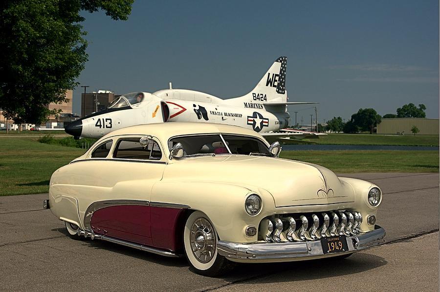 Classic American Cars: Mercury Custom 1949-1951
